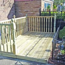 Decking in Hull